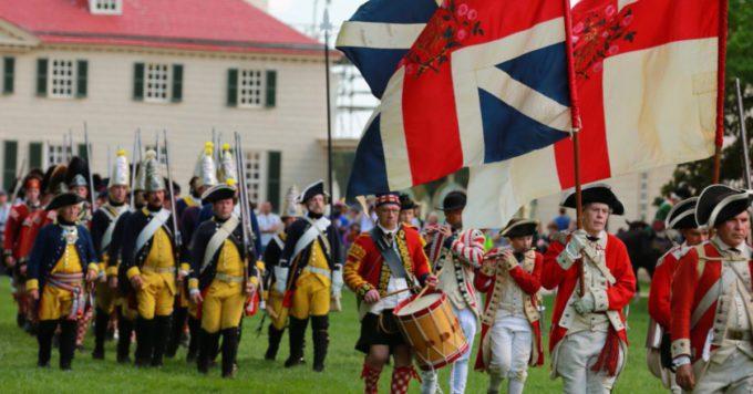 Revolutionary War Weekend at George Washington's Mount Vernon