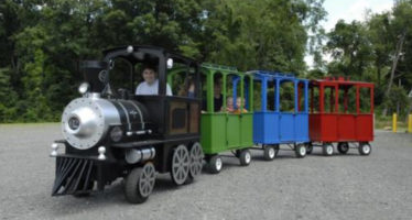 All Aboard for a Ride on the Turkey Train at Lake Fairfax Park