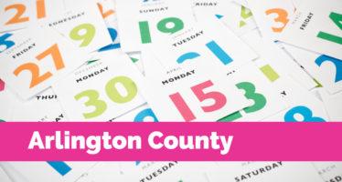 Calendar: Arlington County