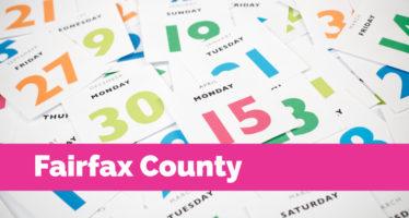 Calendar: Fairfax County