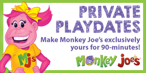 Monkey Joe's Private Playtimes (Dec 3, 2020 @ 2 pm – TBA)