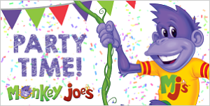 Monkey Joe's May Birthday Banner (May 5 @ 4 pm-TBA)